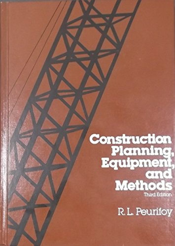 9780070497603: Construction Planning Equipment and Methods