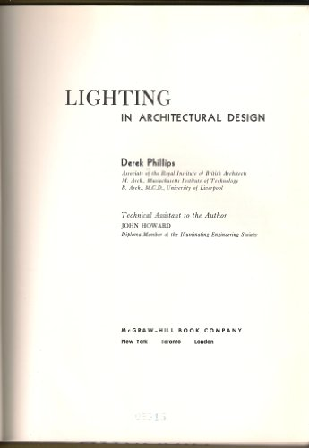 9780070497856: Lighting in architectural design.