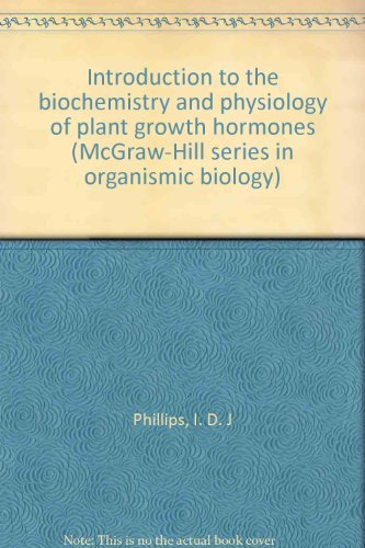 Introduction to the Biochemistry and Physiology of Plant Growth Hormones