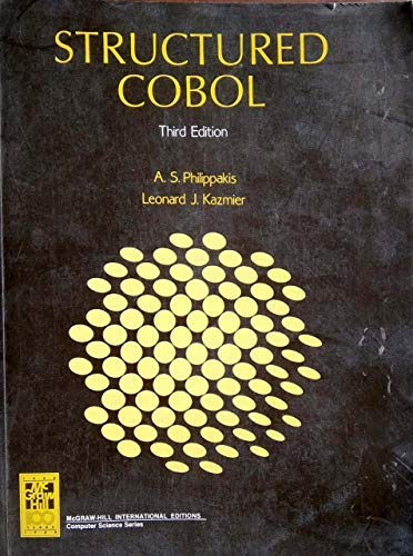 9780070498099: Structured Cobol