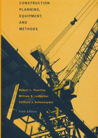 9780070498365: Construction Planning, Equipment and Methods