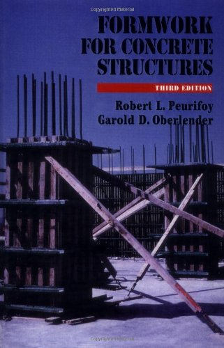 9780070498389: Formwork for Concrete Structures (Construction Series (Mcgraw-Hill, Inc.))