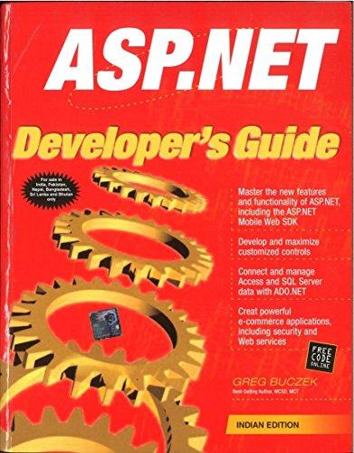 9780070499171: ASP .NET Developer's Guide