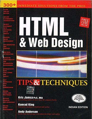 9780070499218: HTML & Web Design: Tips & Techniques 1ED