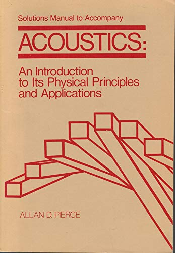 9780070499621: Acoustics: An introduction to its physical principles and applications (McGraw-Hill series in mechanical engineering)