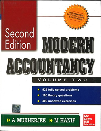 Modern Accountancy, Volume 2: Amitabha Mukherjee,Mohammed Hanif