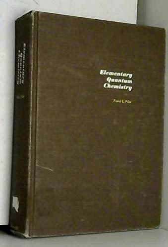 9780070500938: Elementary Quantum Chemistry