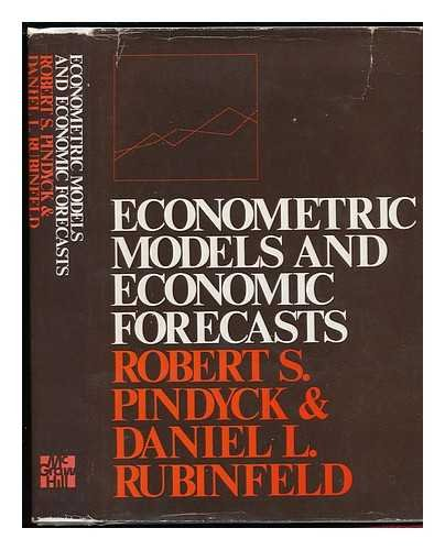 9780070500952: Econometric Models and Economic Forecasts