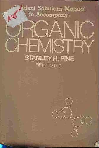 9780070501195: Organic Chemistry: Student's Solution Supplement