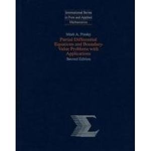 9780070501287: Partial Differential Equations and Boundary Value Problems With Applications (International Series in Pure and Applied Mathematics)