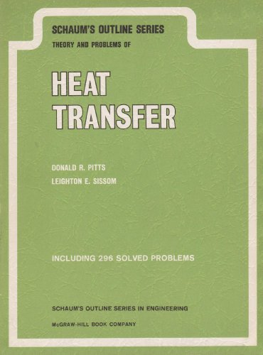 9780070502031: Schaum's Outline of Theory and Problems of Heat Transfer
