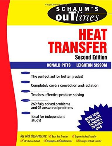 9780070502079: Schaum's Outline of Heat Transfer (Schaum's Outline Series)