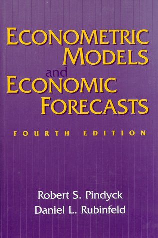 9780070502086: Econometric Models and Economic Forecasts (Text alone)