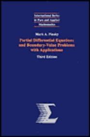 9780070502277: Partial Differential Equations and Boundary Value Problems with Applications