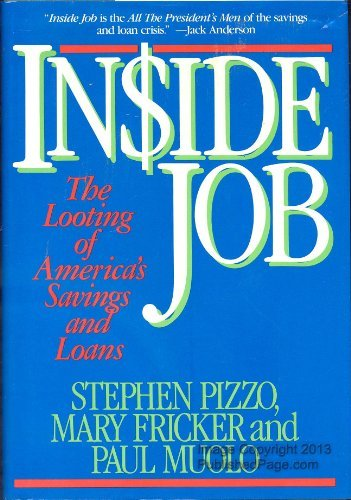 9780070502307: Inside Job: The Looting of America's Savings and Loans