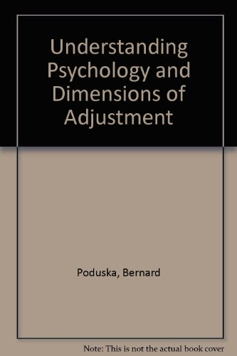 9780070503656: Understanding Psychology and Dimensions of Adjustment
