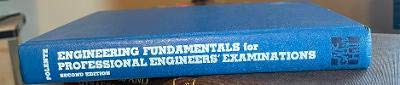 9780070503809: Engineering Fundamentals for Professional Engineers' Examinations