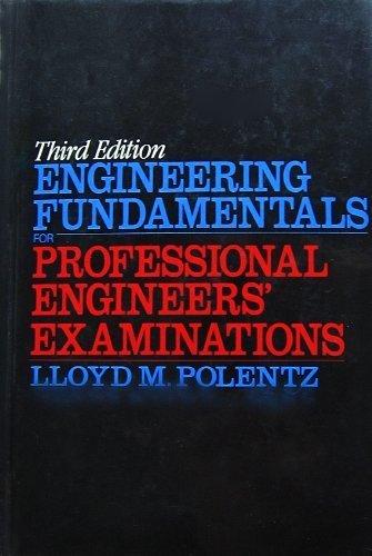 9780070503939: Engineering Fundamentals for Professional Engineers' Examinations