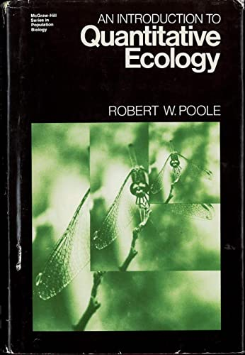 9780070504158: Introduction to Quantitative Ecology (Population Biology)