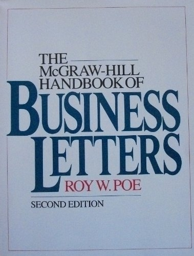 9780070504172: McGraw-Hill Handbook of Business Letters