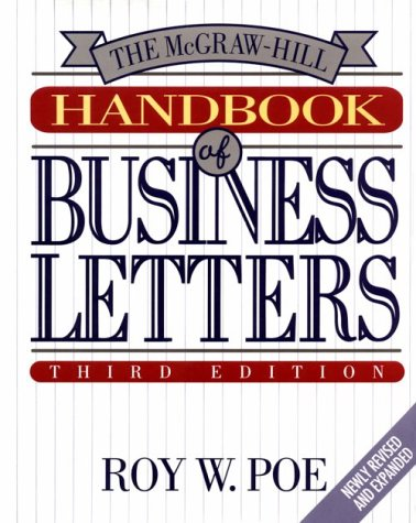 9780070504257: The McGraw-Hill Handbook of Business Letters