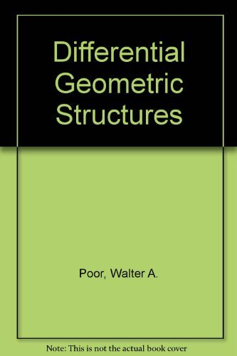 Differential Geometric Structures: Poor, Walter A.