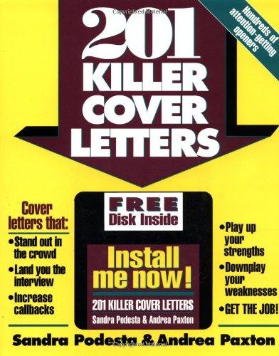 9780070504561: 201 Killer Cover Letters