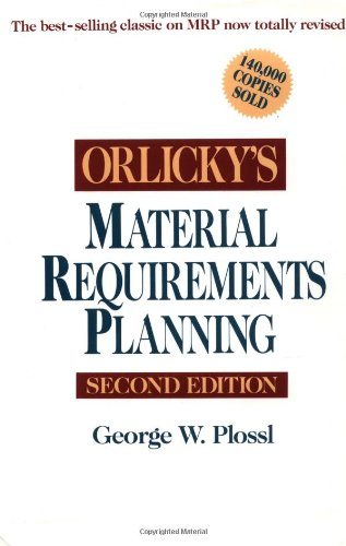 9780070504592: Orlicky's Material Requirements Planning