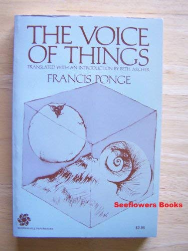 9780070504608: The Voice of Things.