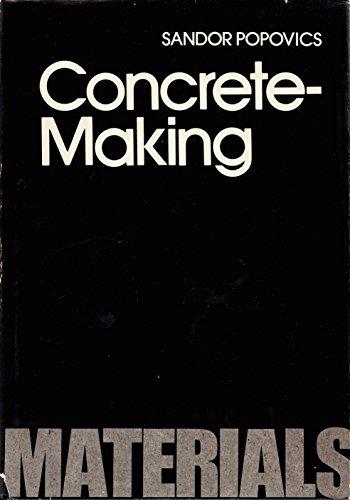 9780070505056: Concrete Making Materials