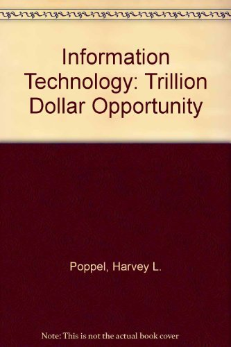 9780070505117: Information Technology: The Trillion-Dollar Opportunity