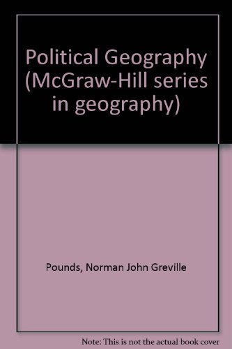 9780070505667: Political Geography (McGraw-Hill series in geography)