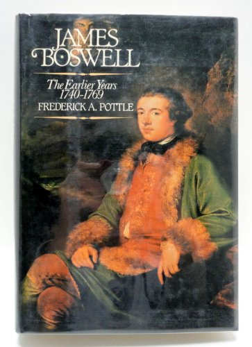 9780070505780: James Boswell: The Earlier Years, 1740-1769