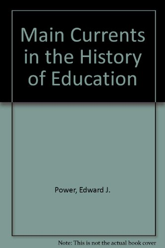 9780070505810: Main Currents in the History of Education