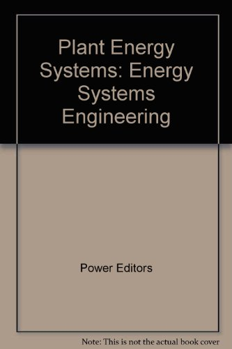 9780070505889: Plant Energy Systems: Energy Systems Engineering