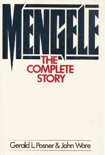 9780070505988: Mengele: The Complete Story