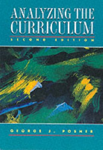 9780070507050: Analyzing the Curriculum
