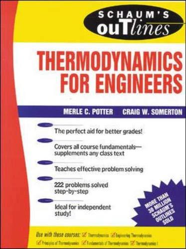9780070507074: Schaum's Outline of Engineering Thermodynamics (Schaum's Interactive Outline)