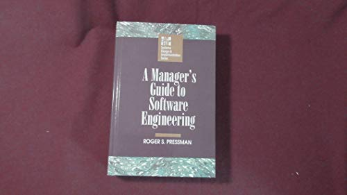 9780070508200: A Manager's Guide to Software Engineering
