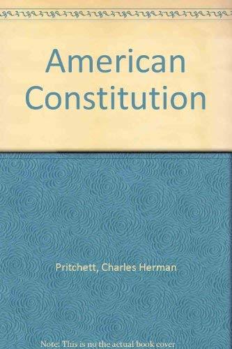 9780070508774: American Constitution