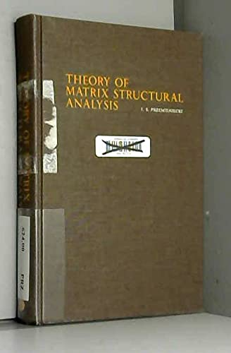 9780070509047: Theory of Matrix Structural Analysis