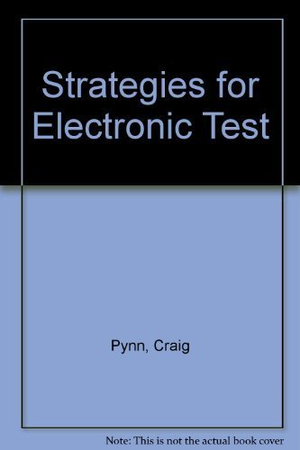 9780070509979: Strategies for Electronic Test