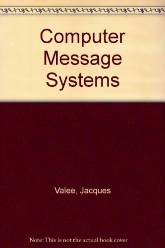 9780070510319: Computer Message Systems