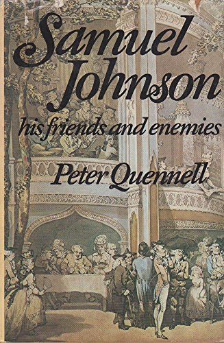9780070510401: Samuel Johnson; his friends and enemies