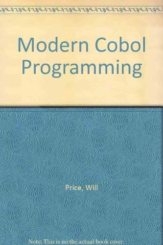 9780070510449: Modern COBOL programming