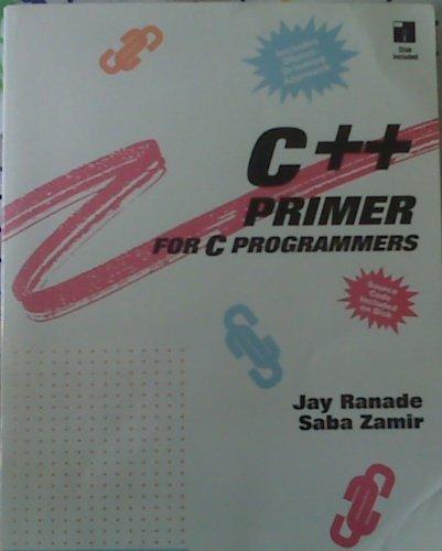 9780070512160: C++ Primer For C Programmers