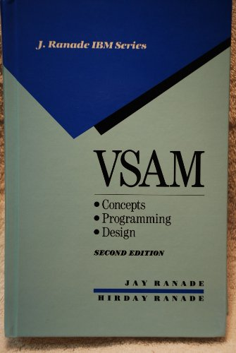 9780070512443: Vsam: Concepts, Programming, and Design (J Ranade Ibm Series)