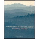 9780070512535: New Directions In California History: A Book of Readings