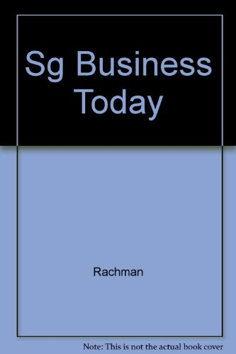 9780070513105: Sg Business Today