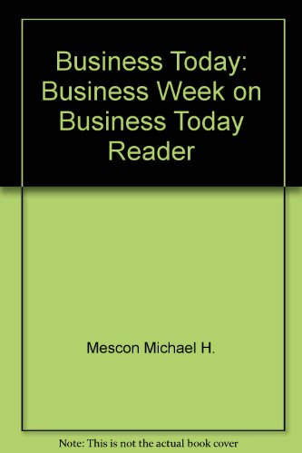 9780070513181: Business Today: Business Week on Business Today Reader